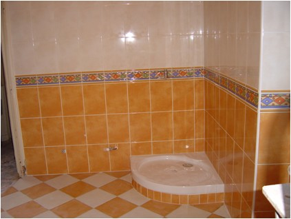 Emejing Salle De Bain Orange Et Beige Pictures - House Design ...